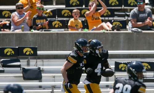 Iowa football Kids Day scrimmage takeaways: Offense provides most highlights
