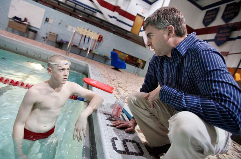 Chris Cruise calls it a career as Cedar Rapids Washington boys' swimming coach