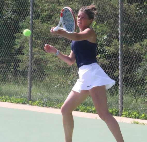 Cedar Rapids Xavier wins 1A girls' state tennis doubles crown