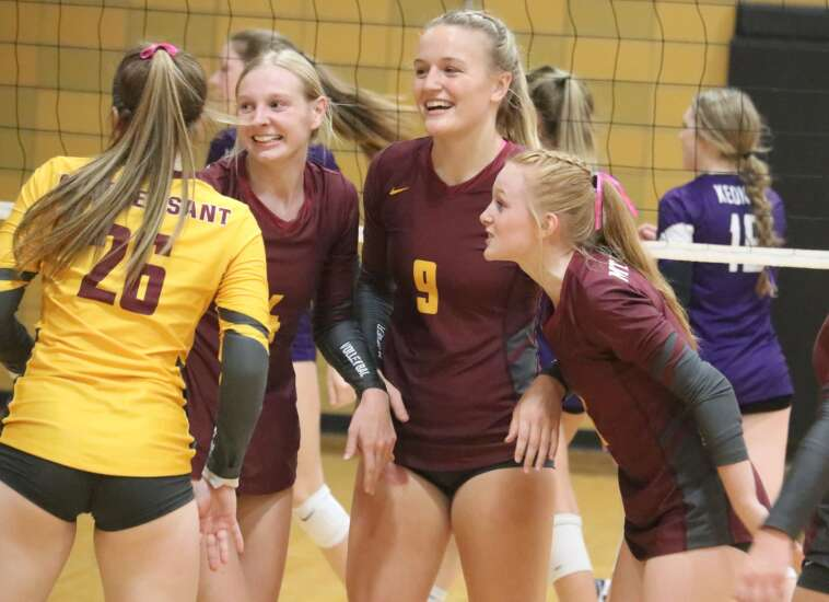 Mt. Pleasant volleyball wins SEC