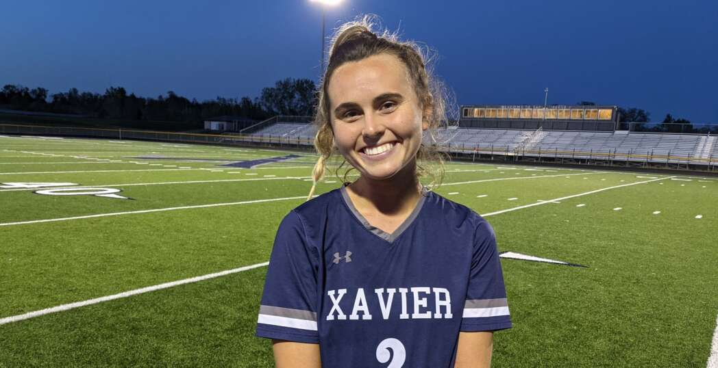 Amanda Ross has a special night in what Xavier hopes is another special girls' soccer season