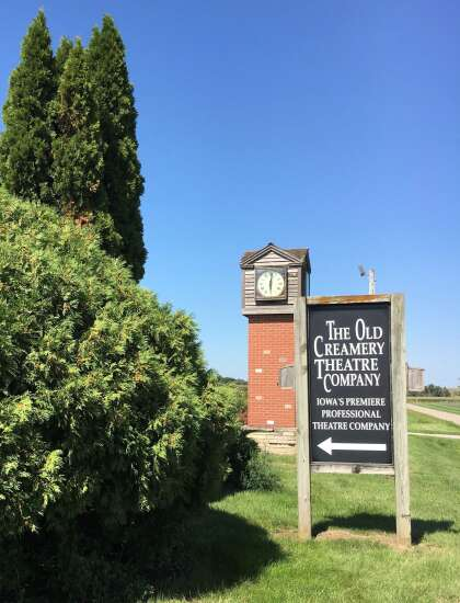 Old Creamery Theatre reopening with road shows