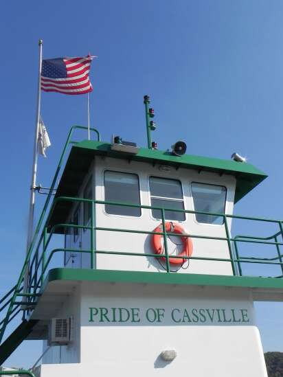 Taking a slow boat to Cassville