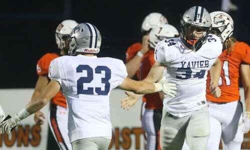 Photos: Cedar Rapids Xavier vs. West Delaware football