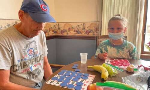 She's 8, he's 72, but unlikely pair became fast friends