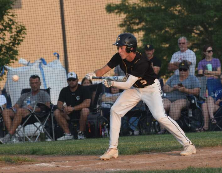 Rath hits, pitches Golden Hawks to victory