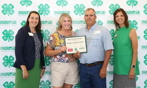 Dwayne and Andrea Wright inducted into 4-H Hall of Fame