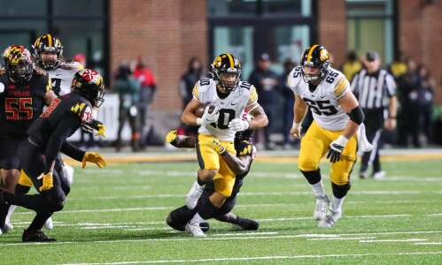 Arland Bruce becomes next true freshman to shine for Hawkeyes