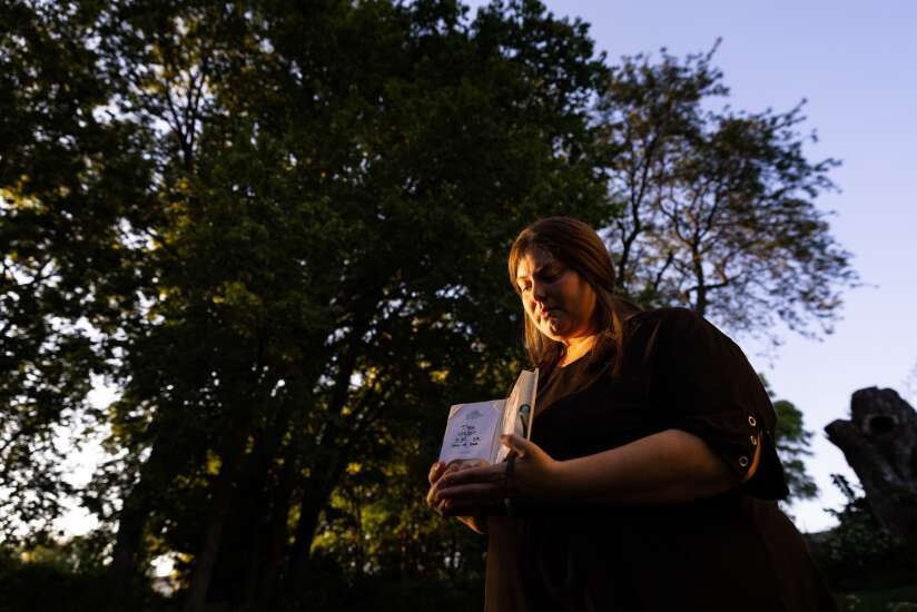With threats to abortion access looming, one Iowa woman fears the worst