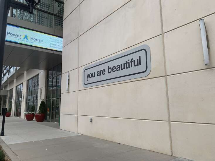 Cedar Rapids secures 'you are beautiful' art installation as part of national project