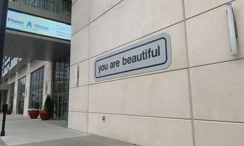 C.R. has one of 50 nationwide 'you are beautiful' installations