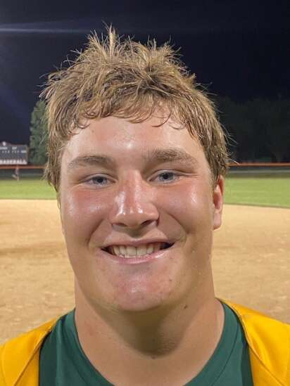Dyersville Beckman's Owen Huehnergarth makes the most of his opportunity