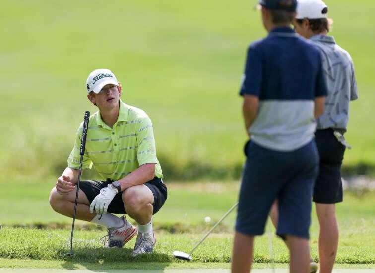 Photos: MVC Valley Divisional, Iowa high school boys' golf