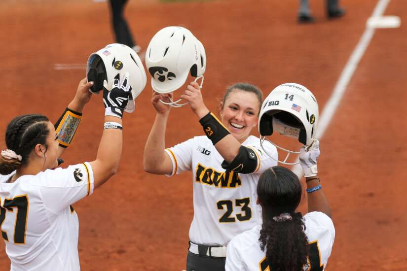 Iowa softball completes season-ending charge