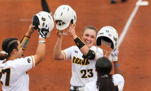 Iowa softball completes season-ending charge