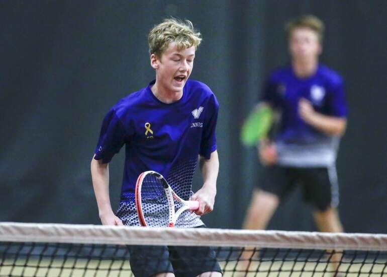 Photos: Iowa high school boys' state tennis 2021