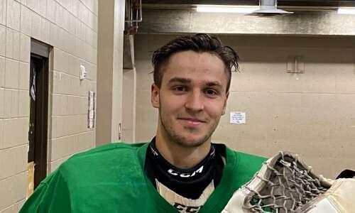 Dream come true for C.R. RoughRiders goalie Bruno Bruveris
