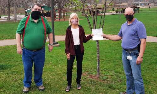 Marion awarded grant through MidAmerican Energy's 'Trees Please!' Program
