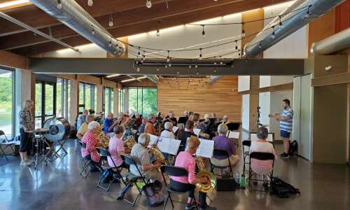 Iowa City New Horizons band back in action