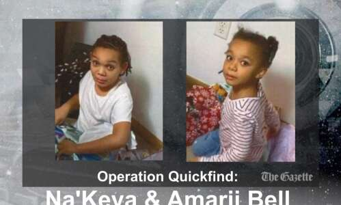 Operation Quickfinds issued for 6-year-old, 9-year-old Cedar Rapids sisters