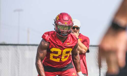 Breece Hall willing to return kickoffs for Iowa State