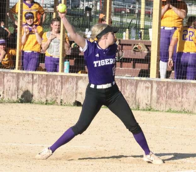 IW softball splits final games, earns No. 5 seed