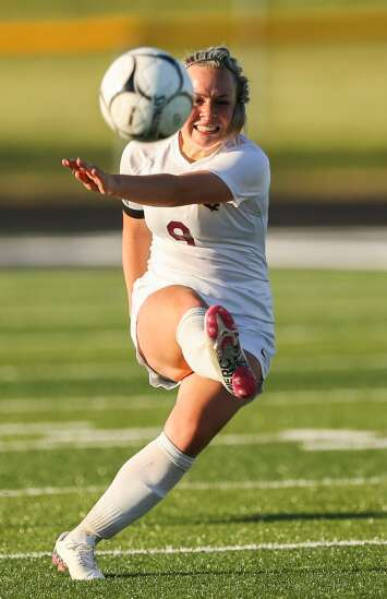 Photos: Mount Vernon vs. Cedar Rapids Xavier, Iowa Class 2A girls' soccer regional final