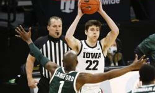 A few words with Iowa men's basketball player Patrick McCaffery