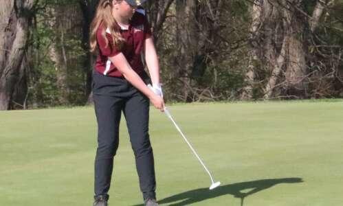 Mt. Pleasant girls golf team takes 4th at home tournament