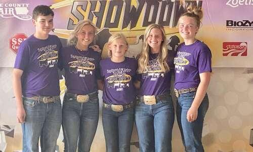 Washington 4-H'ers take honors at Southeast Iowa Showdown, Final Drive