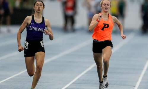 """Iowa City West's Phoebe Burt: """"State runner-up, that's huge"""""""