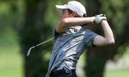 Cedar Rapids Kennedy captures state golf berth in competitive field