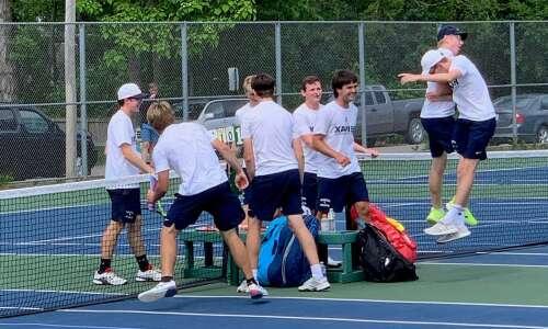 Xavier captures Class 1A boys' state tennis title
