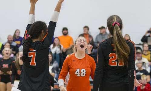 Photos: Springville vs. Edgewood-Colesburg regional volleyball