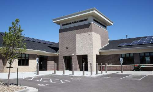 Expanded Hiawatha Public Library's grand opening is Wednesday