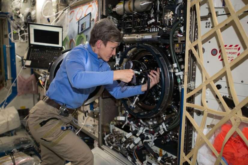 Astronaut Peggy Whitson to be keynote speaker for Iowa Ideas 2021