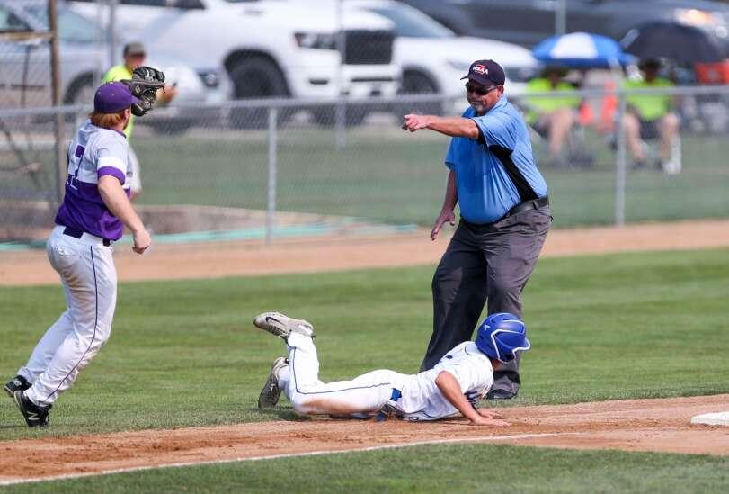 Photos: Lansing Kee vs. Remsen St. Mary's, Class 1A Iowa high school state baseball tournament