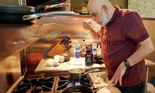 Coralville chef serves joy in one of Iowa's smallest restaurants