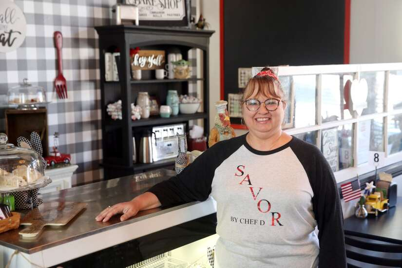 Anyone can cook a delicious meal with 5 ingredients or less, West Liberty chef teaches