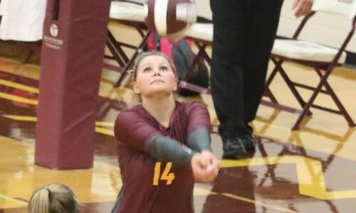 Mt. Pleasant goes 3-1 at Grinnell volleyball tournament