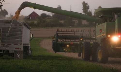 Corn, bean harvest running ahead of normal