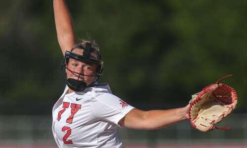 Photos: Iowa City West vs. Iowa City High softball