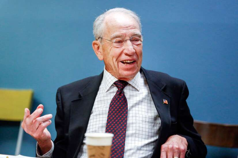 On Iowa Politics Podcast: Redistricting, Grassley's re-election bid, and a batch of new Iowa poll results