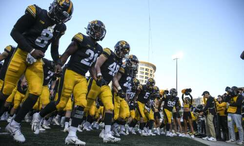 Iowa moves to No. 9 in AP Poll