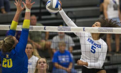 Photos: Kirkwood Eagles volleyball vs. NIACC