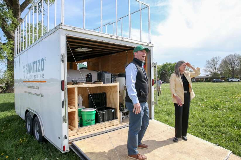 Ernst sees water quality benefits of agricultural drones