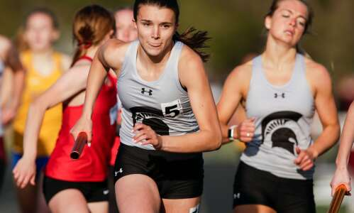 Recapping the conference girls' track and field meets
