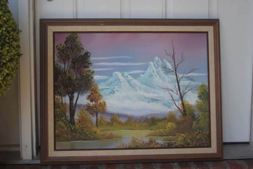 Iowa family going to great lengths to authenticate Bob Ross paintings