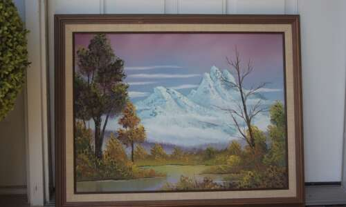 Bettendorf family plans road trip to authenticate Bob Ross paintings