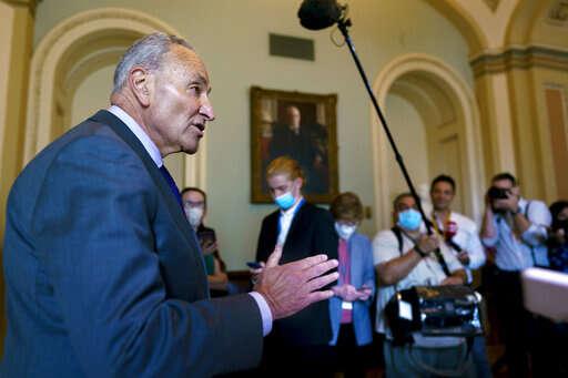 Senate advances nearly $1 trillion infrastructure plan, but tough negotiations remain